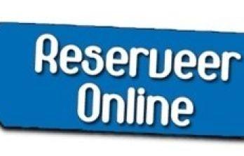 Vanaf dinsdag 27 oktober 2020 reserveren via reservering systeem